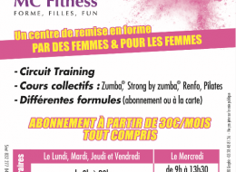 MC Fitness organise ses portes ouvertes